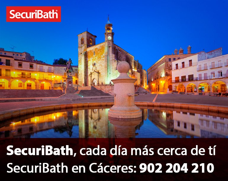 SecuriBath en Cáceres