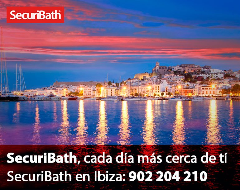 Securibath en Ibiza
