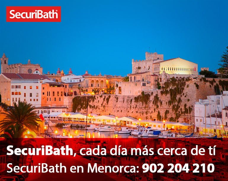Securibath en Menorca