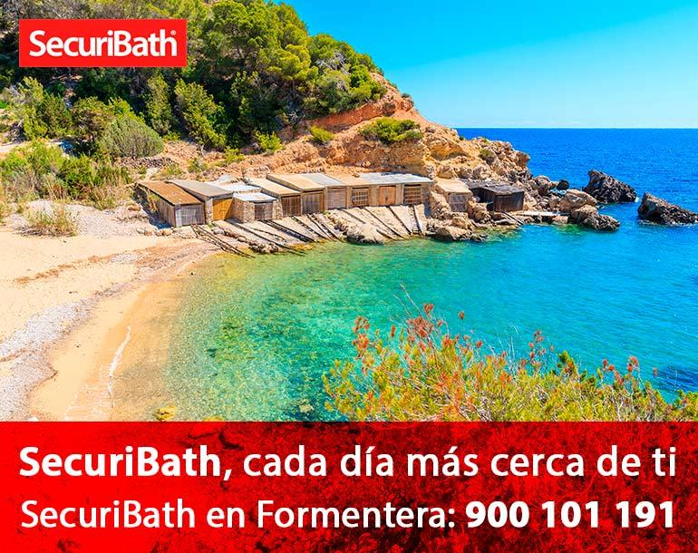 Securibath en Formentera
